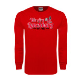 Red Long Sleeve T Shirt-We Are Lynchburg Est 1903