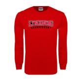 Red Long Sleeve T Shirt-Grandparent