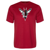 Performance Red Tee-Hornet Bevel L