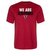Syntrel Performance Red Tee-We Are Lynchburg