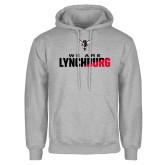 Grey Fleece Hoodie-We Are Lynchburg Two-Tone