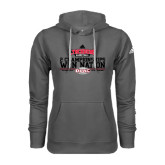 Adidas Climawarm Charcoal Team Issue Hoodie-ODAC 2 Champions Won Nation