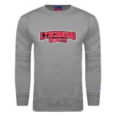 Grey Fleece Crew-Lynchburg Hornets