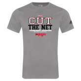 Adidas Sport Grey Logo T Shirt-ODAC Cut the Net Mens Basketball