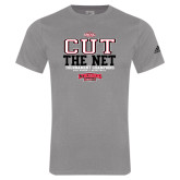 Adidas Sport Grey Logo T Shirt-ODAC Cut the Net Womens Basketball