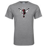 Grey T Shirt-Hornet Bevel L