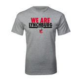 Grey T Shirt-We Are Lynchburg