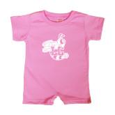 Bubble Gum Pink Infant Romper-Hornet