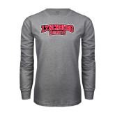 Grey Long Sleeve T Shirt-Lynchburg Hornets