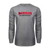 Grey Long Sleeve T Shirt-Grandparent
