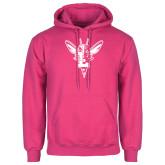 Fuchsia Fleece Hoodie-Hornet Bevel L
