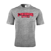 Performance Grey Heather Contender Tee-Lynchburg Hornets