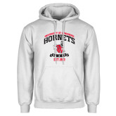 White Fleece Hoodie-Lynchburg College Hornets