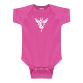 Fuchsia Infant Onesie-Hornet Bevel L