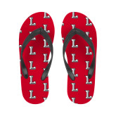 Ladies Full Color Flip Flops-Stinger L
