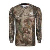 Realtree Camo Long Sleeve T Shirt w/Pocket-Hornet