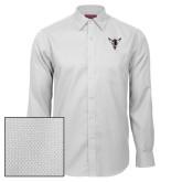 Red House White Diamond Dobby Long Sleeve Shirt-Hornet Bevel L