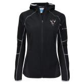 Columbia Ladies Sweet As Black Hooded Jacket-Hornet Bevel L