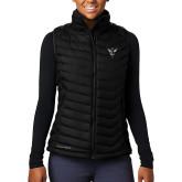 Columbia Mighty LITE Ladies Black Vest-Hornet Bevel L