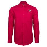 Red House Red Long Sleeve Shirt-Hornet Bevel L