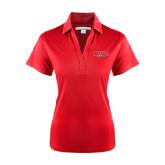 Ladies Red Performance Fine Jacquard Polo-Lynchburg Hornets