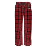 Red/Black Flannel Pajama Pant-L Mark