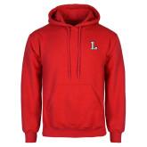 Red Fleece Hoodie-Stinger L