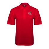 Red Easycare Pique Polo-Hornet