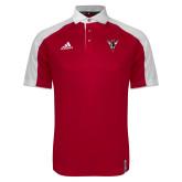 Adidas Modern Red Varsity Polo-Hornet Bevel L