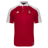 Adidas Modern Red Varsity Polo-Stinger L