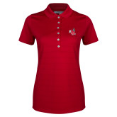 Ladies Callaway Opti Vent Red Polo-Hornet