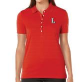 Ladies Callaway Opti Vent Red Polo-Stinger L