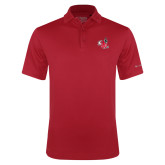 Columbia Red Omni Wick Round One Polo-Hornet