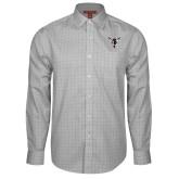 Red House Grey Plaid Long Sleeve Shirt-Hornet Bevel L