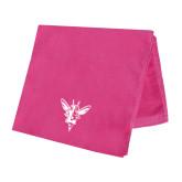 Pink Beach Towel-Hornet Bevel L