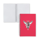 Clear 7 x 10 Spiral Journal Notebook-Hornet Bevel L