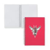 Clear 7 x 10 Spiral Journal Notebook-Hornet Bevel L