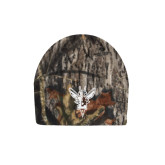 Mossy Oak Camo Fleece Beanie-Hornet Bevel L