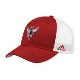 Adidas Red Structured Adjustable Hat-Hornet Bevel L