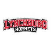 Large Magnet-Lynchburg Hornets Wordmark, 12 in Wide