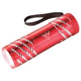 Astro Red Flashlight-Hornet Bevel L Engraved
