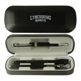 Black Roadster Gift Set-Lynchburg Hornets Engraved