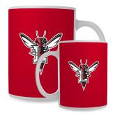 Full Color White Mug 15oz-Hornet Bevel L