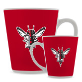 12oz Ceramic Latte Mug-Hornet Bevel L
