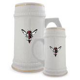 Full Color Decorative Ceramic Mug 22oz-Hornet Bevel L