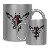 Full Color Silver Metallic Mug 11oz-Hornet Bevel L
