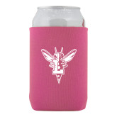 Neoprene Hot Pink Can Holder-Hornet Bevel L