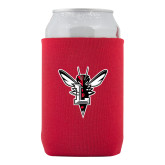 Collapsible Red Can Holder-Hornet Bevel L