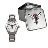 Ladies Stainless Steel Fashion Watch-Hornet Bevel L