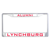 Alumni Metal License Plate Frame in Chrome-Alumni